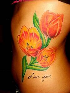 Flower Shoulder Designs Tulip Tattoos Designs Ideas And Meaning Tattoos For You