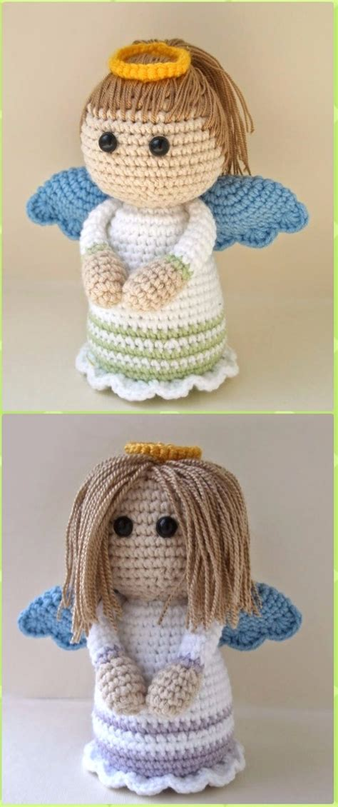 crochet angel  patterns tutorials