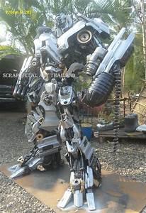 Transformers Bumblebee Optimus Prime Statue Figure Replica Sculpture For Sale Life Size Metal