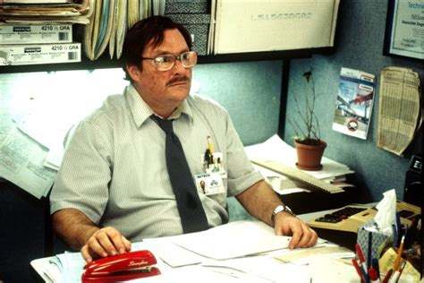 Office Space Stapler by Stephen Root Discusses Character Roles Office Space And