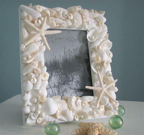 seashell frames  beach decor nautical beach wedding