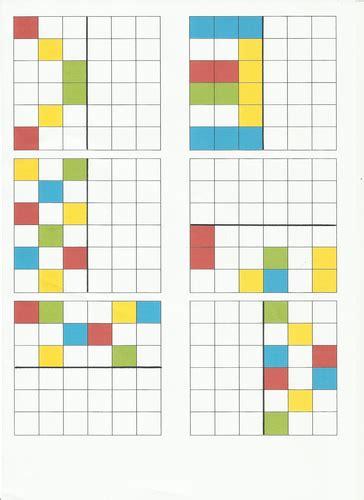reflective symmetry pattern worksheets  christie