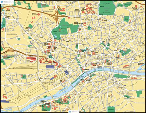 map  frankfurt  main germany