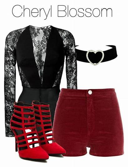 Riverdale Cheryl Blossom Polyvore Outfits Clothes Wattpad