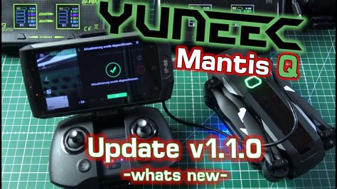 yuneec mantis  update   ist neu whats   youtube