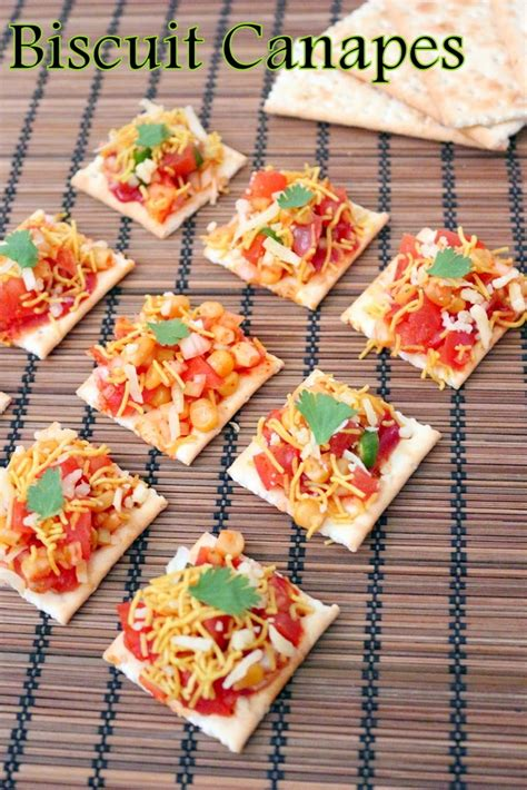 made canapé recipe of biscuit canapes how to biscuit canapes