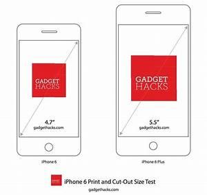 Iphone 6 Vs Iphone 6 Plus Size