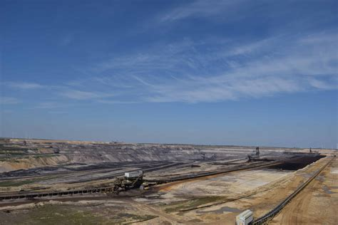 picture  coal industry workplace blue sky