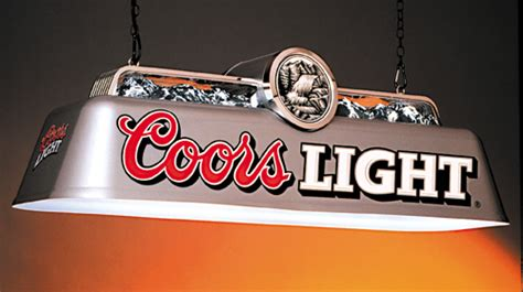 coors pool table light dwight burns design on behance