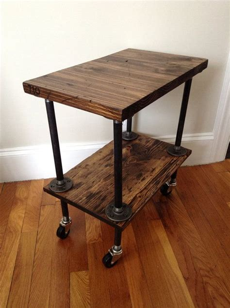 industrial side table ideas  pinterest black