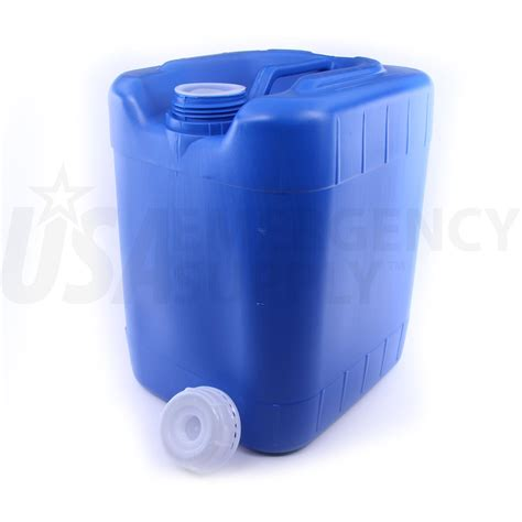 5 Gallon Stackable Emergency Water Container Usa