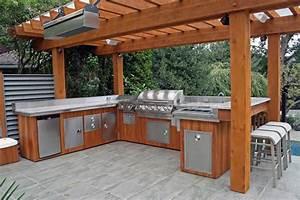 5 ideas to decide an outdoor kitchen design modern kitchens for Outside kitchen design