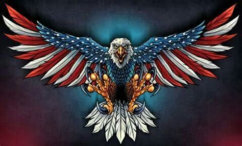 pin  tammy underwood  askulls bald eagle american flag decal eagle painting
