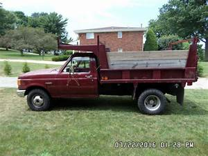 1988 Ford F350 Dump Truck For Sale