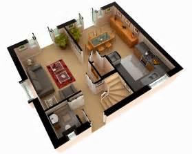 smart placement house design plans ideas multi story house plans 3d 3d floor plan design modern
