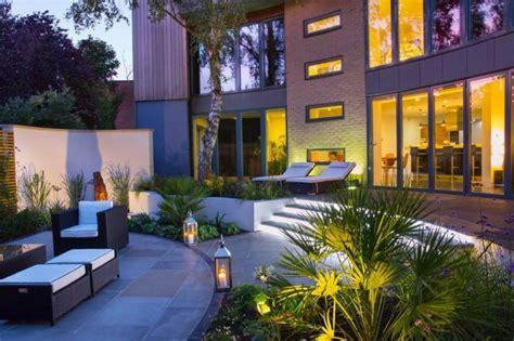 decoration jardin terrasse en  exemples modernes