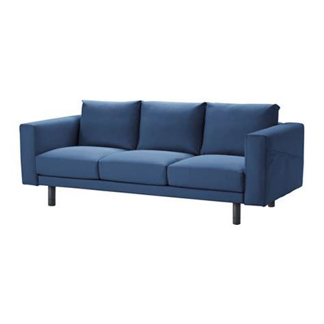 Wood Canapé Droit 3 Places Tissu Gris Clair by Norsborg Canap 233 3 Places Edum Bleu Fonc 233 Gris Ikea