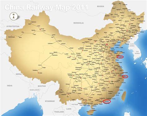 map  china major cities