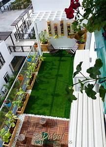 Balcony, Artificial, Grass, Dubai