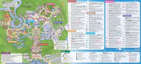 walt disney world maps