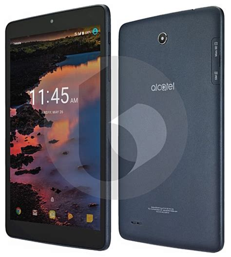 Rugged Tablets Windows 7 by Alcatel A30 Tablet With 8 Inch Display And Android Nougat
