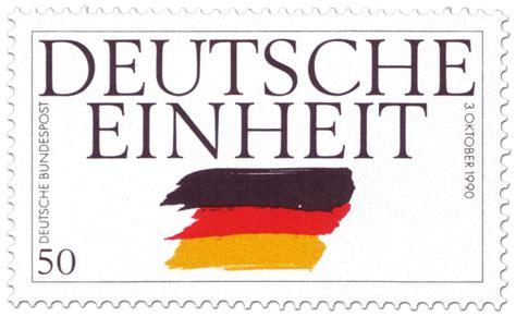 Die zentralen feierlichkeiten zum tag der deutschen einheit in halle werden. Tag der Deutschen Einheit, german stamp 1990
