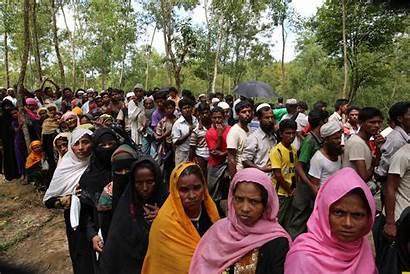 Rohingya Myanmar Bangladesh Muslims Ethnic Cleansing Example