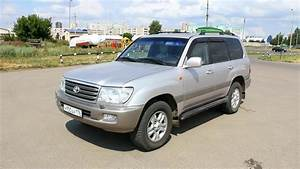 2003 Toyota Land Cruiser 100  Start Up  Engine  And In