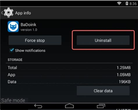 android uninstall app how to permanently remove from android