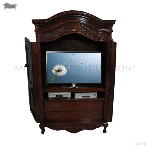 Bedroom Tv Cabinet by Tv Cabinet Armoire Wardrobe For Bedroom Carved
