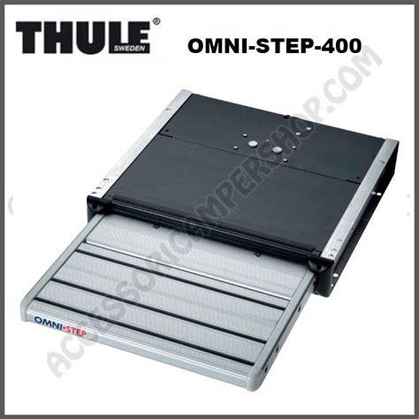 step pedana gradino elettrico singolo a scorrere 12 v thule omni step