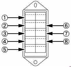 Kubota L4600 - Fuse Box Diagram