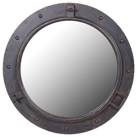 Industrial Bathroom Mirror by Industrial Mirror Traditional Wall Mirrors Other