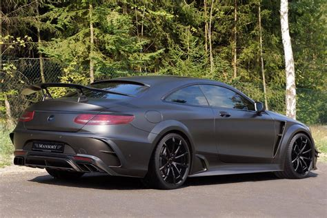 official 1000hp mansory mercedes s63 amg coupe black edition gtspirit