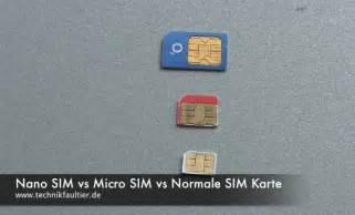 Nano Sim vs Micro Sim