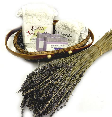 lavender spa gift set rustic bathroom accessory sets