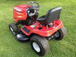 Used Troy-bilt Bronco 42-in Riding Lawn Mower