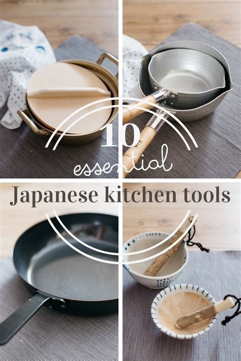 japanese kitchen essential kitchenwares tools wares need knives