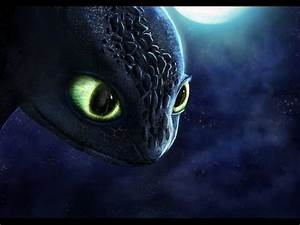 Night Light Dragon Httyd How To Train Your Dragon Toothless Speedpaint 2 Years