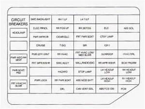 Oldsmobile Silhouette  1998  - Fuse Box Diagram