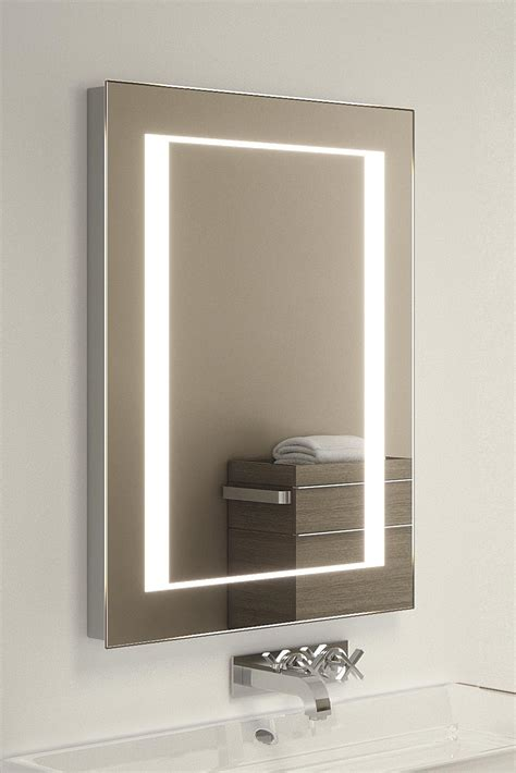 Large Illuminated Bathroom Mirror by Kalki Shaver Led Bathroom Illuminated Mirror With Demister