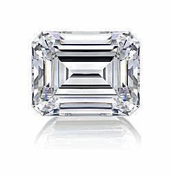 Asha Fake Diamond Emerald Cut
