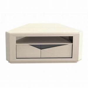 meuble tv d39angle design gicamob macao en chene avec laque With meuble tv angle