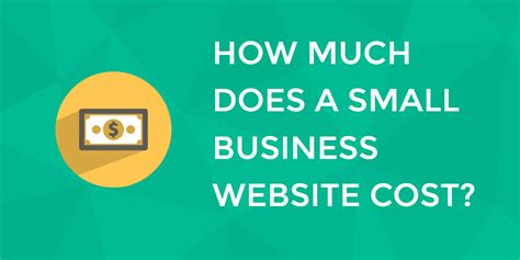 How Much Does A Small Business Website Cost In 2017?