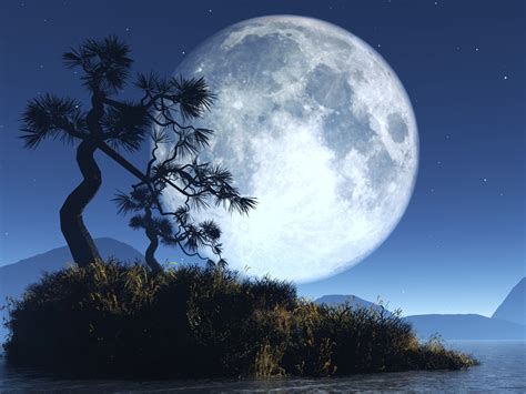 Distanse Full Moon Wallpapers
