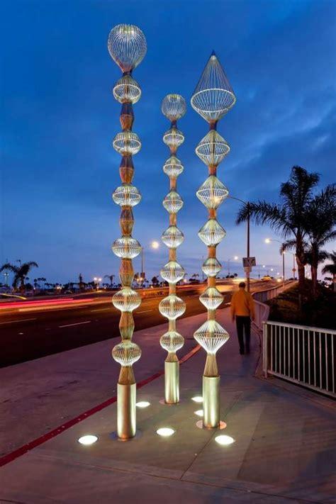 futuristic totem poles sea spires