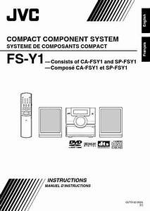 Jvc Fs-y1 Hifi System Download Manual For Free Now