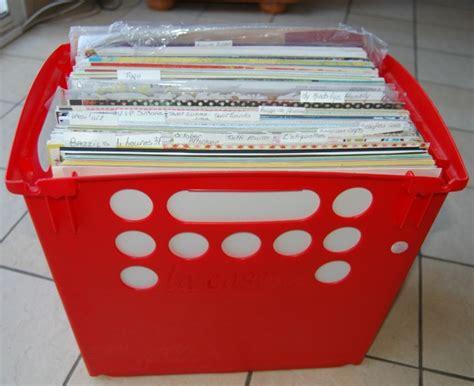 ranger ses papiers dans des caisses tidy scraproom