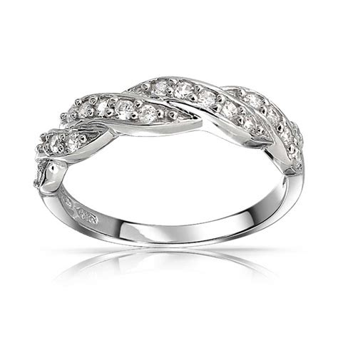 Sterling Silver Pave Cz Twist Infinity Band Ring. Dinner Wedding Rings. Pink Stone Engagement Rings. English Royal Engagement Rings. Raw Tourmaline Wedding Rings. Karma Rings. 6 Stone Rings. Clean Engagement Rings. Coloured Stone Engagement Rings