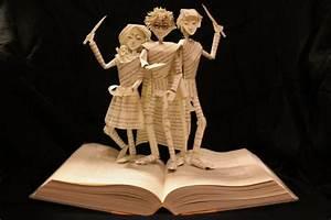 des livres sculptés en oeuvres d 39 nerdpix